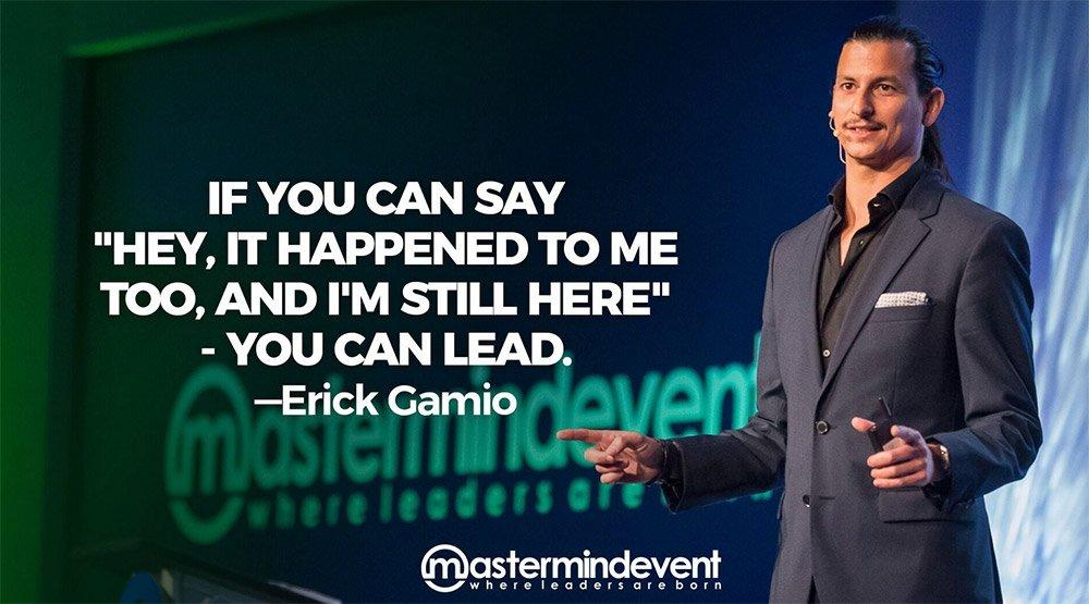 La Frase que inmortalizó a Erick Gamio en el Mastermind Event