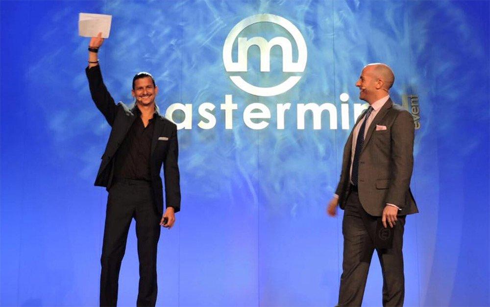 Erick Gamio y Wes Linden en el Mastermind Event en Orlando Florida
