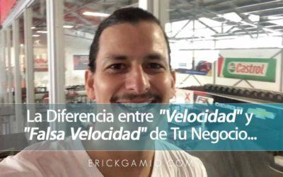 """La Diferencia entre """"Velocidad"""" y """"Falsa Velocidad"""" de Tu Negocio, Te Explico…"""