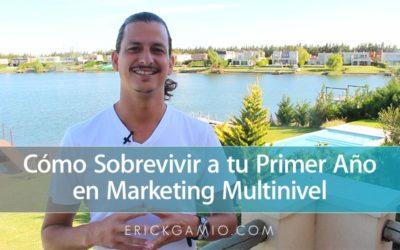 Cómo Sobrevivir a tu Primer Año en Marketing Multinivel (Network Marketing)