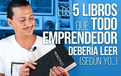Los 5 Libros Que Todo Emprendedor Debería Leer (Según yo…)